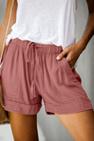 Summer Crush Mauve Shorts
