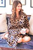 License To Chill Leopard Print Robe