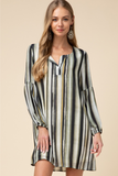 On The Go Stripe Dress