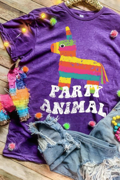 Party Animal Pinata Graphic Tee