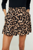 Ring Leader Leopard Print Shorts