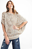 Seasons Change Dolman Sleeve Khaki Sweater