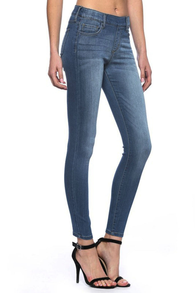 Shayla Medium Wash Denim Jeggings