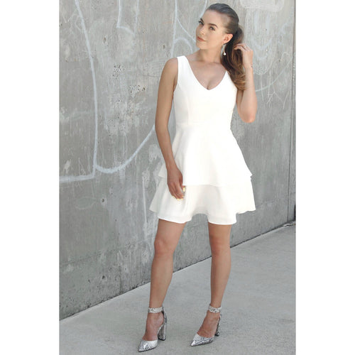 Summer Soiree Off White Dress