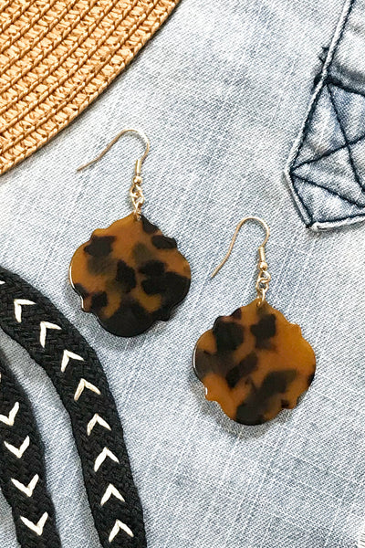 Tortola Tortoise Earrings