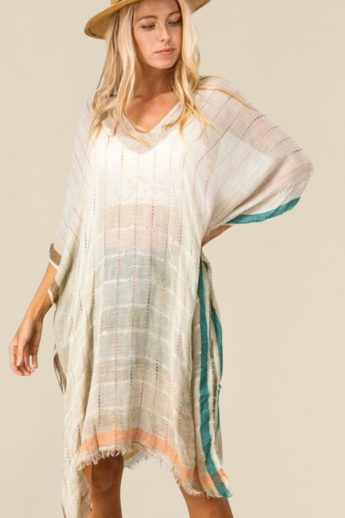 Tropez Cover-Up Tunic Top