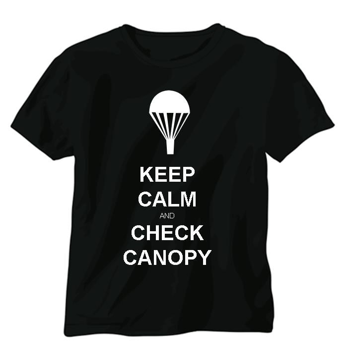 Check Canopy T-shirt