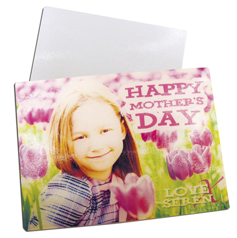 Glass Chopping Board with your image sublimated printed