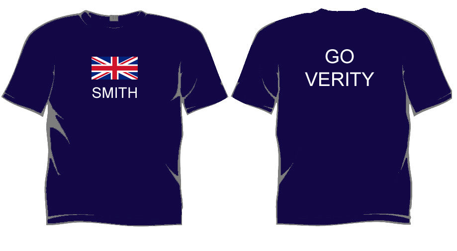 Go Verity World Triathlon Championships 2016 Supporters T Shirt