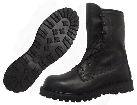 Cadet Combat Boot Black Grafters