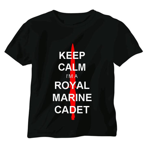 Keep Calm I am a Royal Marine Cadet T-shirt