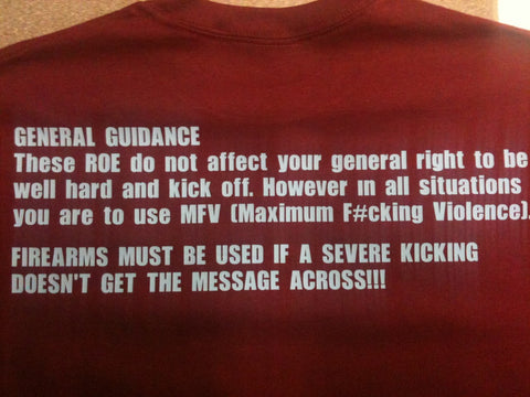 Airborne Rules of Engagement T-shirt