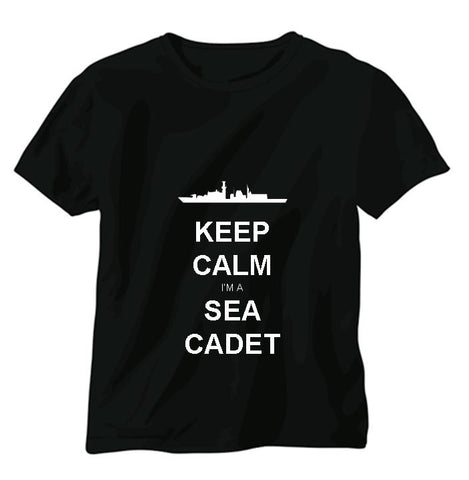 Keep Calm I'm a Sea Cadet T-shirt
