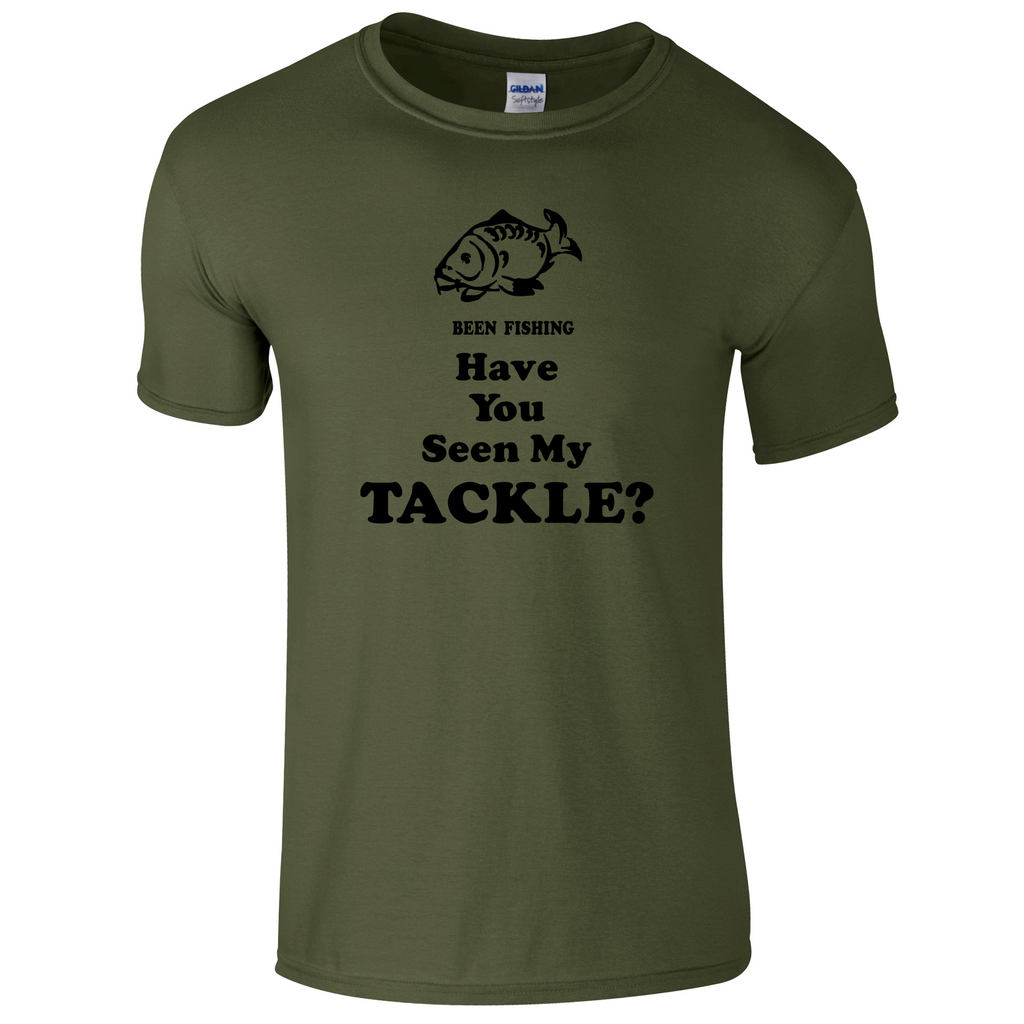 Been Fishing, Have you seen my Tackle?  Fishing Threads Men's T-shirt