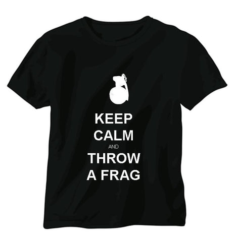 Keep Calm Throw a Frag T-shirt