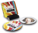 Premium Gloss finish Table Coaster (medite) with your personalised image printed