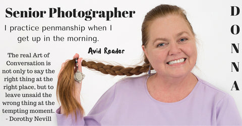 Senior Photographer Donna