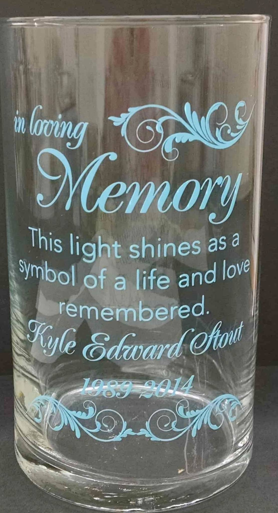 Memorial Candle -  - Personalized Candle Holders - Wedding Candles - 23
