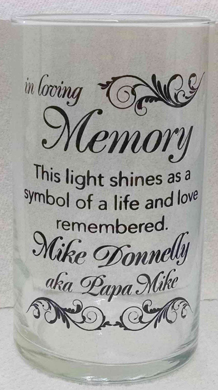 Memorial Candle -  - Personalized Candle Holders - Wedding Candles - 27
