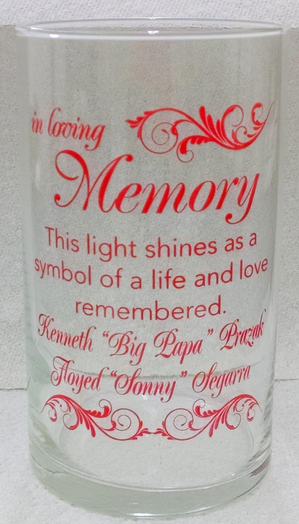 Memorial Candle -  - Personalized Candle Holders - Wedding Candles - 15