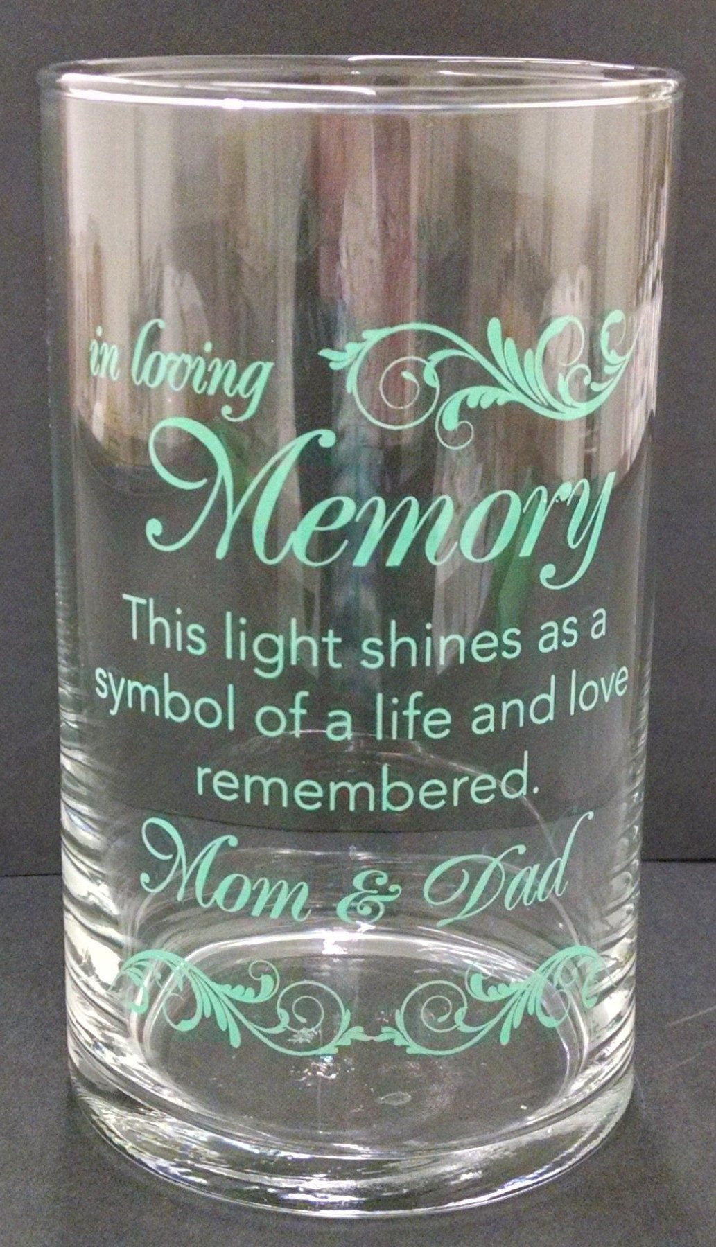 Memorial Candle -  - Personalized Candle Holders - Wedding Candles - 18