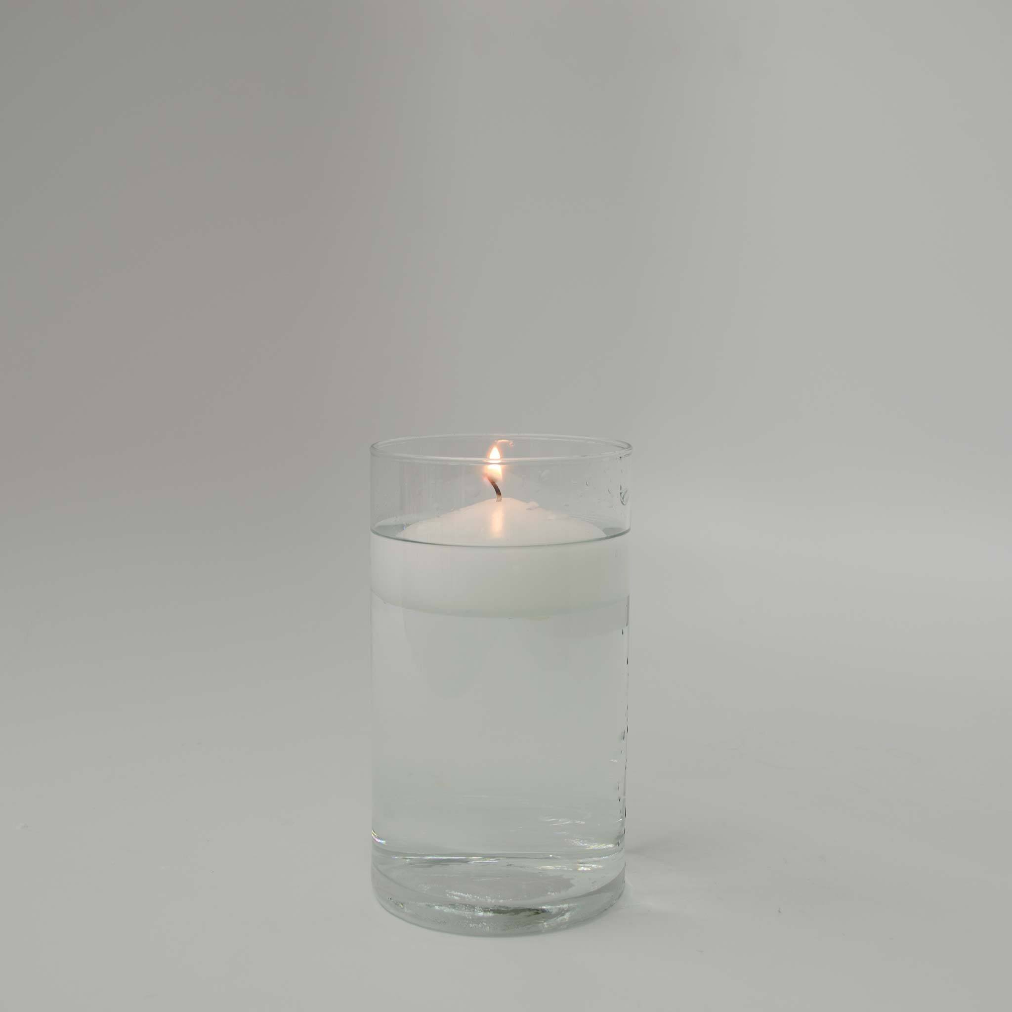 "White Floating Candle 3"" (Case of 12) - WeddingCandles.com"