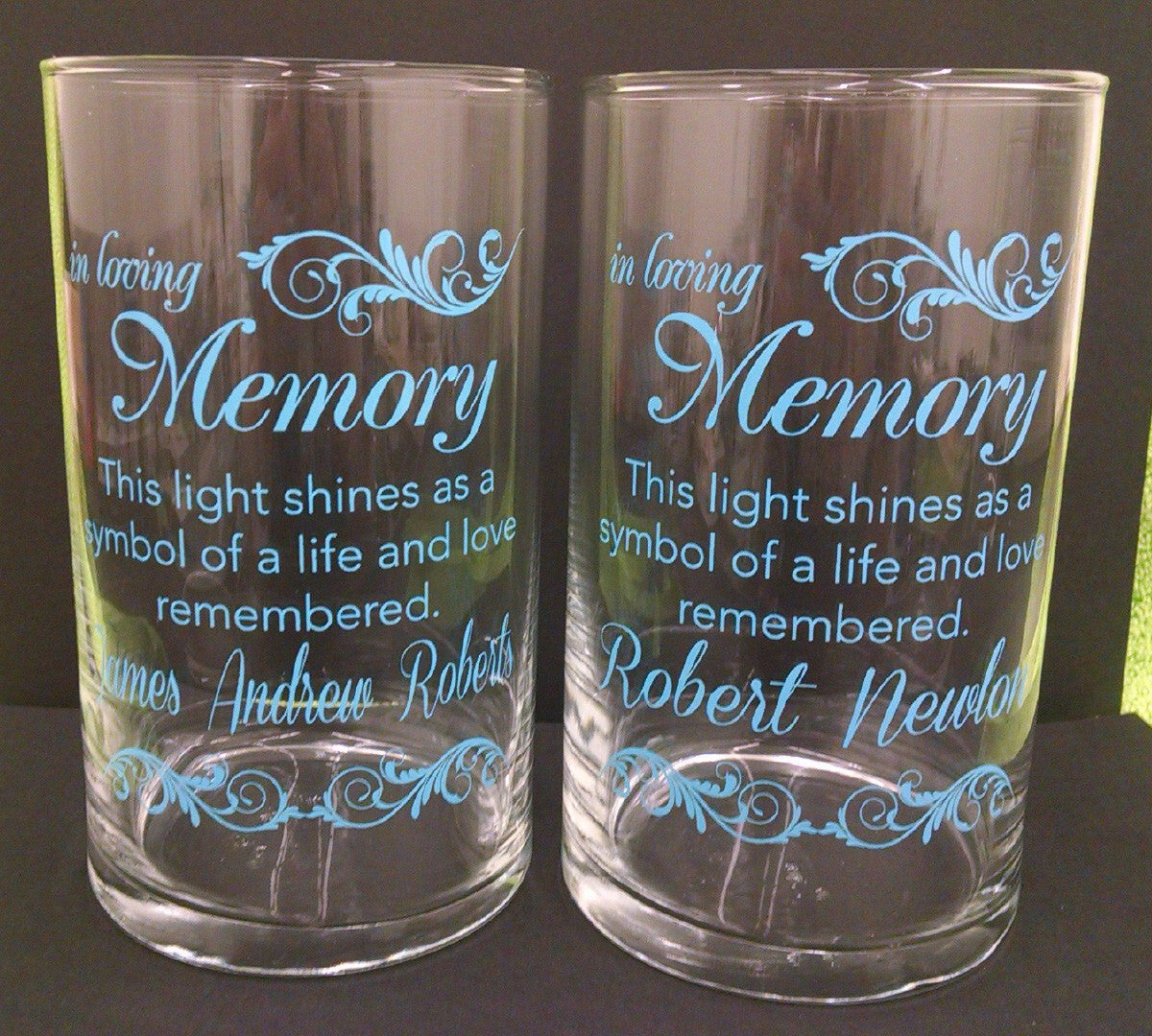 Memorial Candle -  - Personalized Candle Holders - Wedding Candles - 30