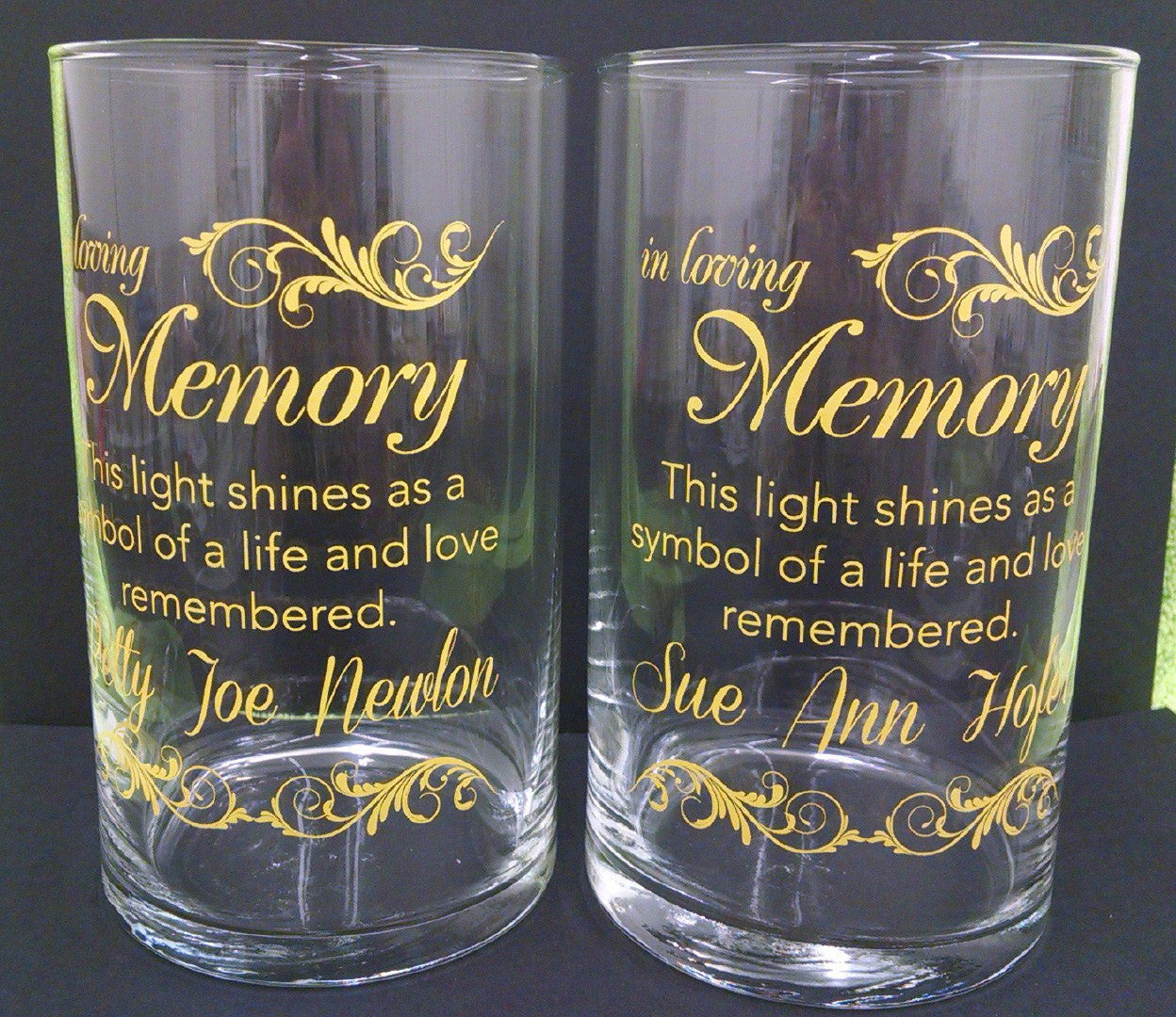 Memorial Candle -  - Personalized Candle Holders - Wedding Candles - 29