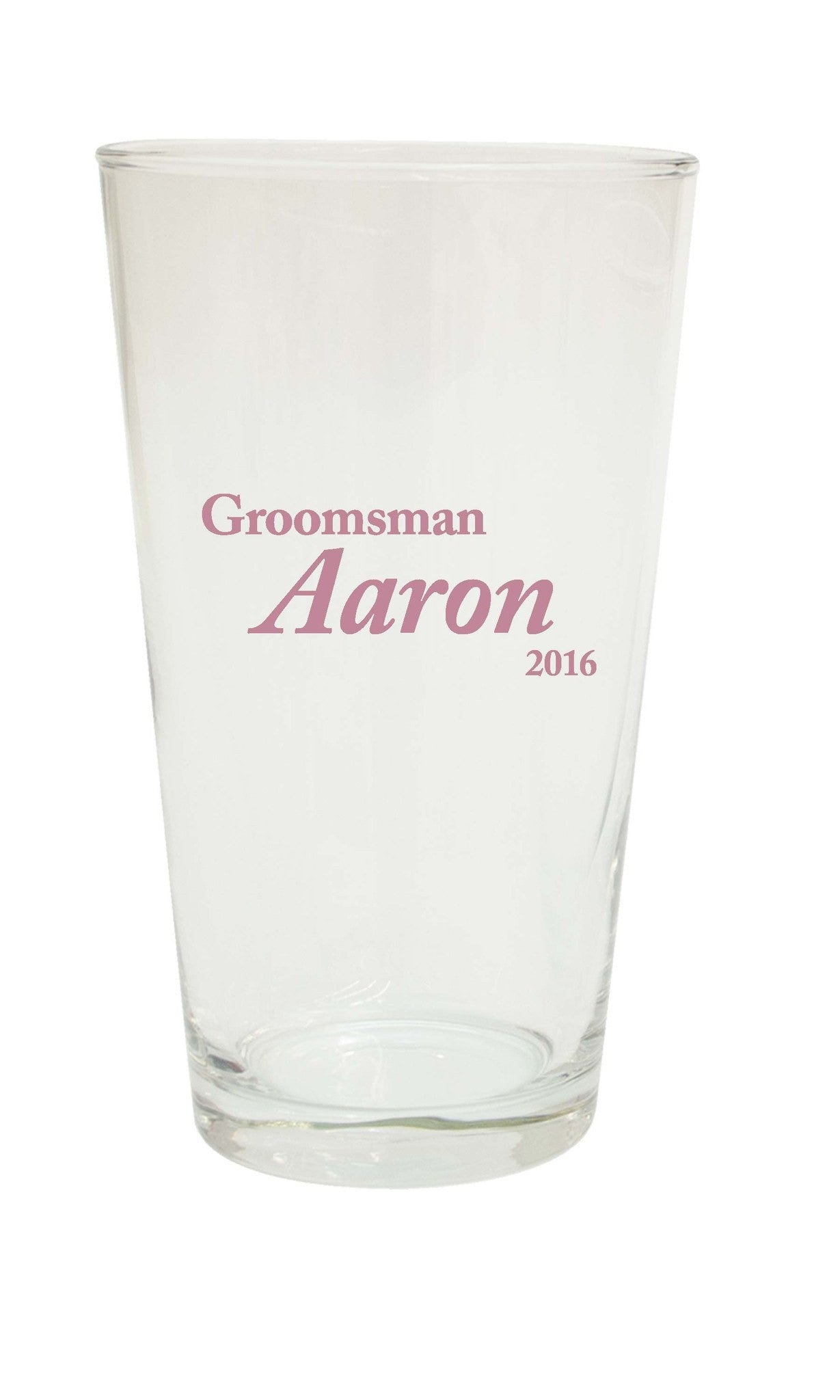 "Groomsman Pint - ""Formal"" - WeddingCandles.com"