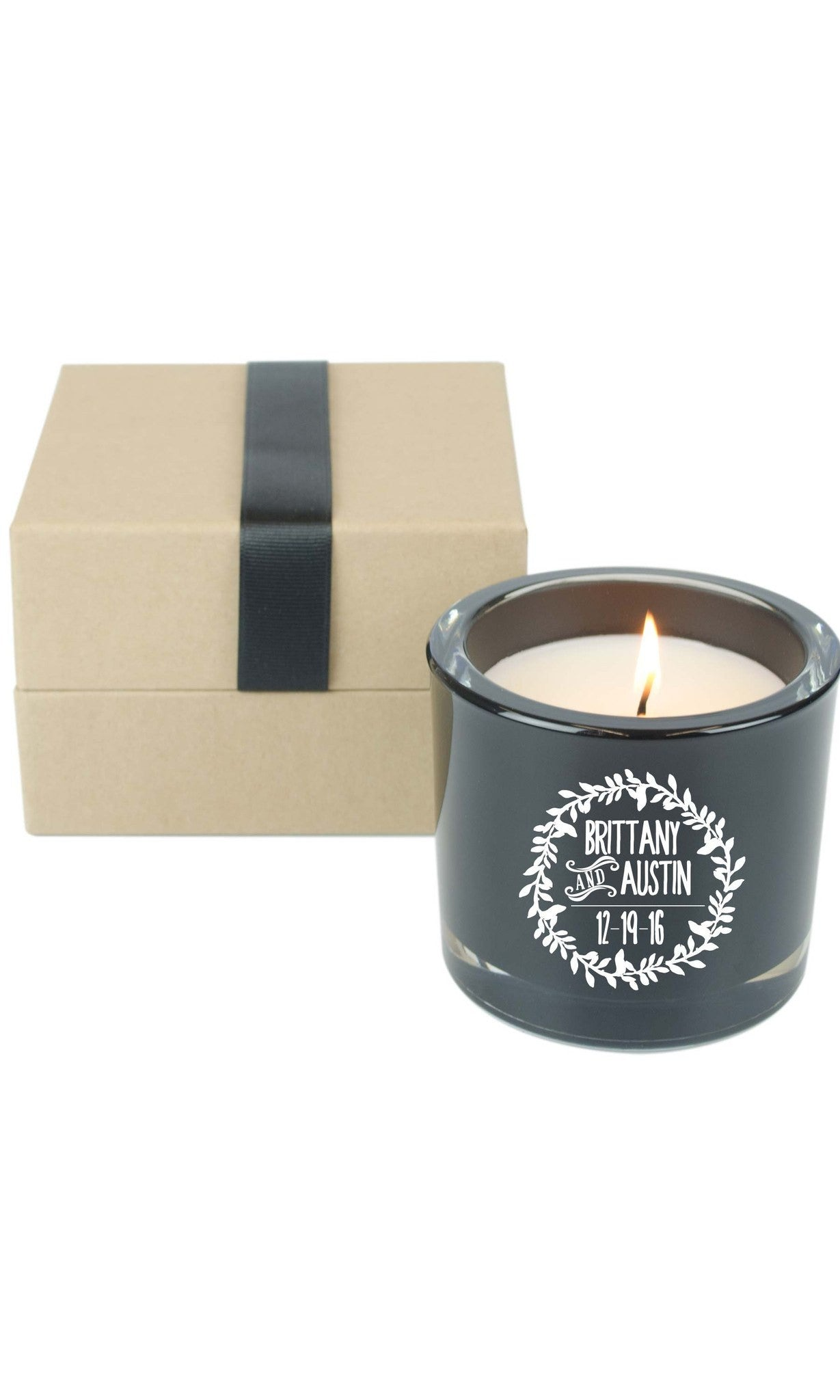 6oz. Gift Candle - Lover's Wreath  (Case of 12) - WeddingCandles.com