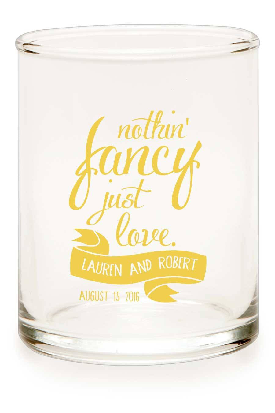 "Votive - ""Just Love"" - WeddingCandles.com"