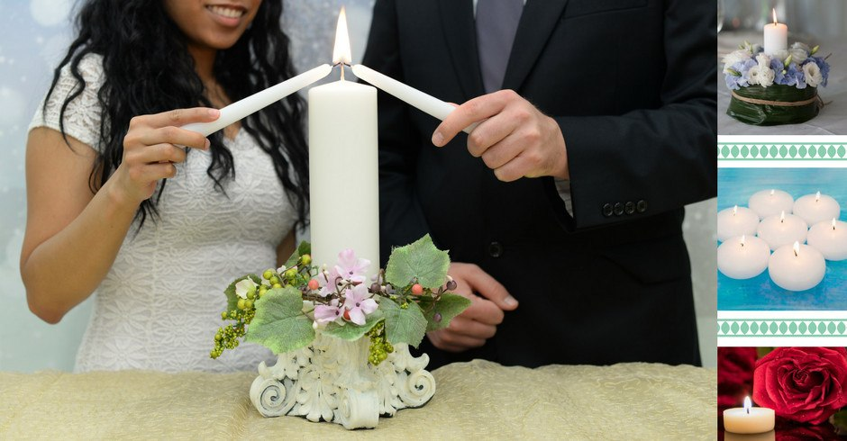 Custom Unity Ceremony Candle