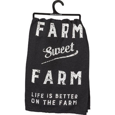 Farm Sweet Farm Dish Towel - Gin Creek Kitchen