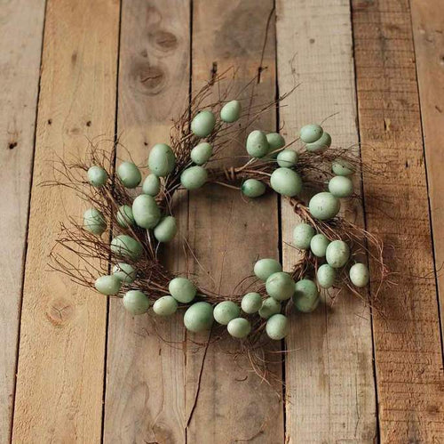 Small Blue Egg Wreath