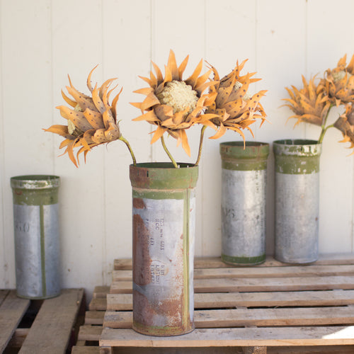 Recycled Ammunition Canister