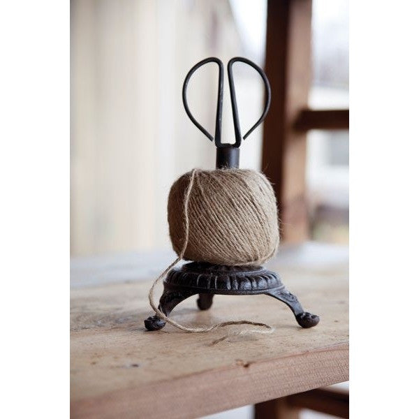 Ball of Twine with Cast Iron Snips