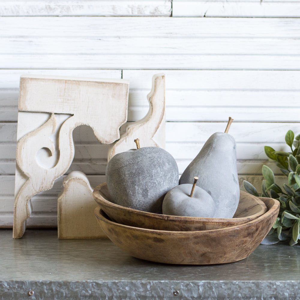 Cement Pear Decor Gin Creek Kitchen