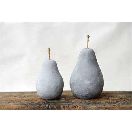 Cement Pear Decor - Gin Creek Kitchen