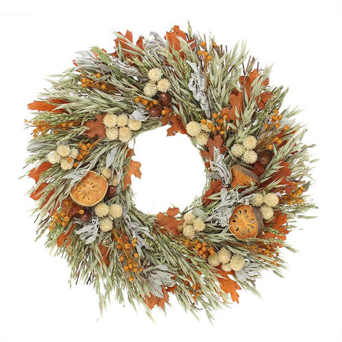 Sage Harvest Wreath
