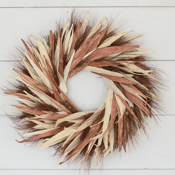 Copper and Gold Wreath