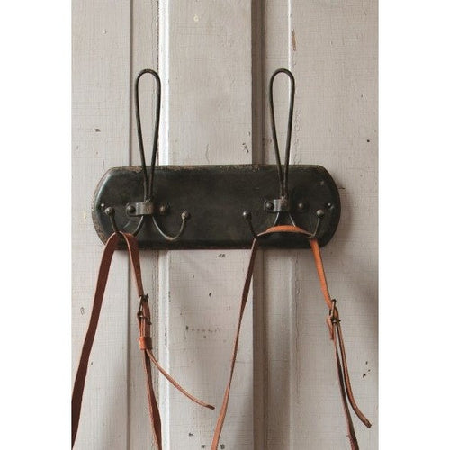 Rustic Metal Double Hooks - Gin Creek Kitchen