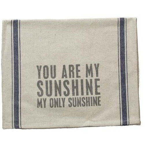 My Sunshine Tea Towel - Gin Creek Kitchen