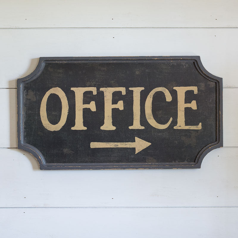 Delicieux Vintage Style Office Sign