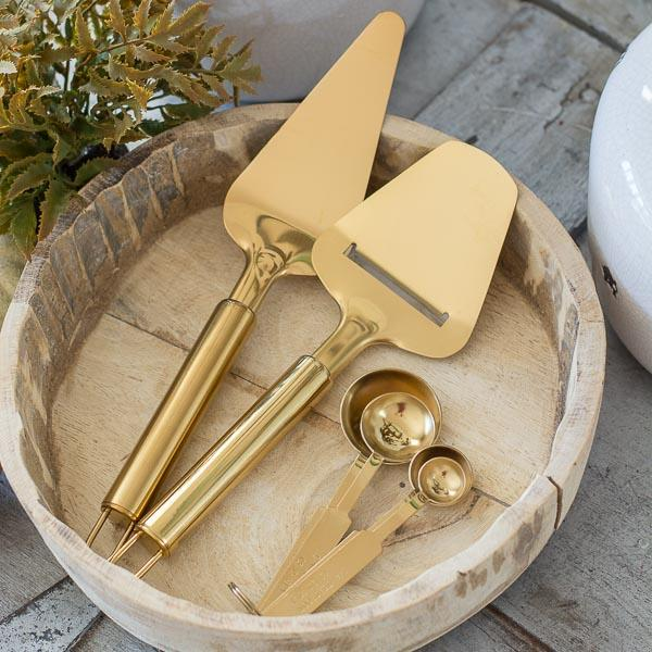 Gold Kitchen Accessories, 3 styles
