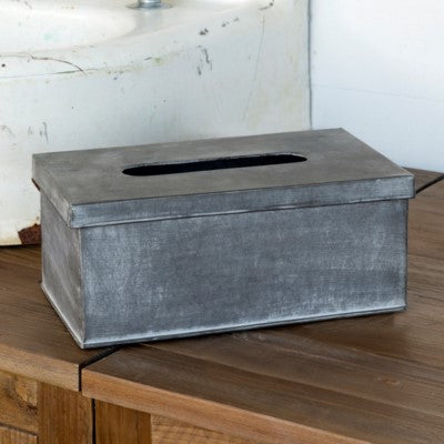 Tin Tissue Box