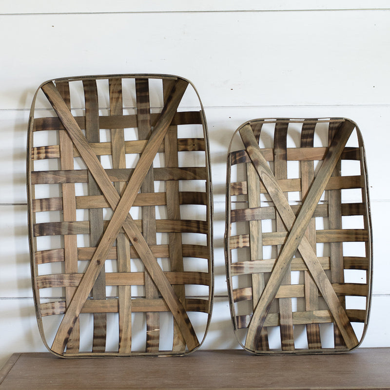 Tobacco Basket Pair