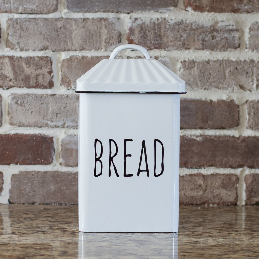 Very Vertical Enamel Bread Box – Gin Creek Kitchen VL47