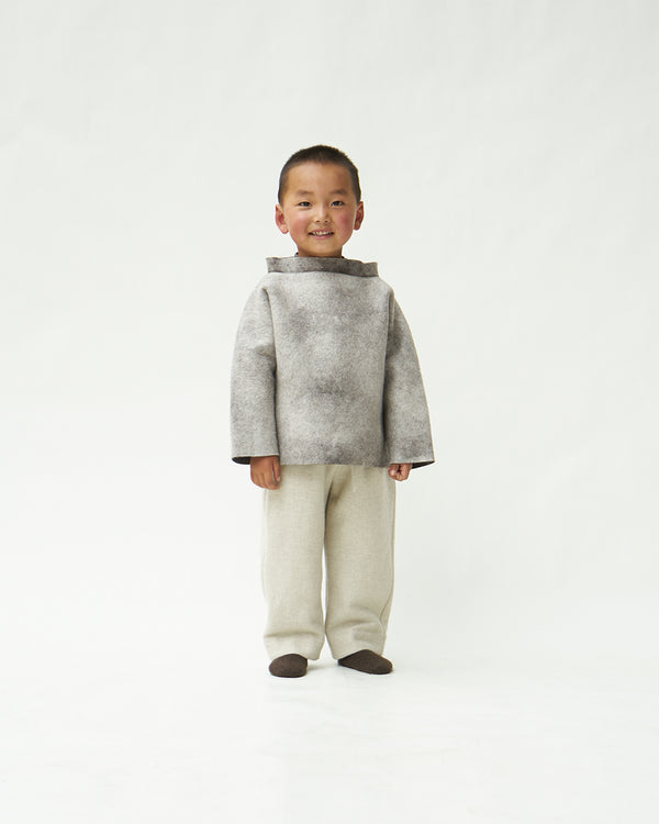 Child's Natural Yak Felt Jumper