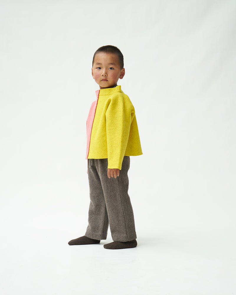 Child's Contrast Felt Jumper