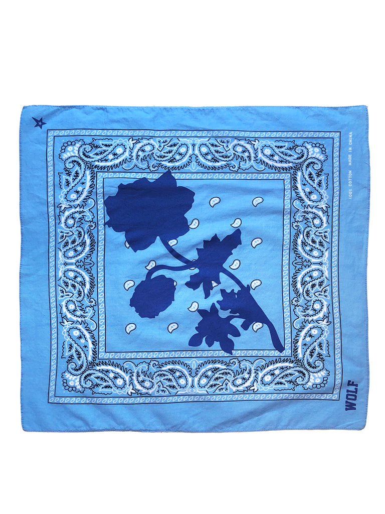 BANDANA POPPY BLUE